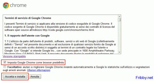 Eseguibile google chrome scarica