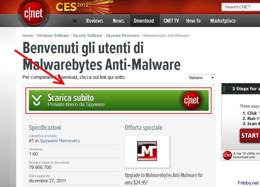 ������ ������ Malwarebytes Anti Malware