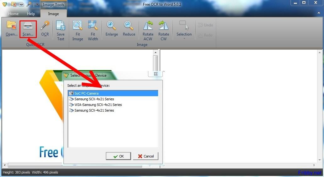 gratuitamente programma scannerizzare documento direttamente word
