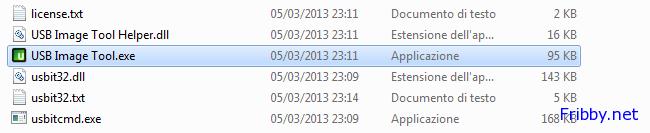 USB Image Toll Avvio Applicazione