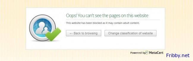 angel dns sito bloccato con metacert