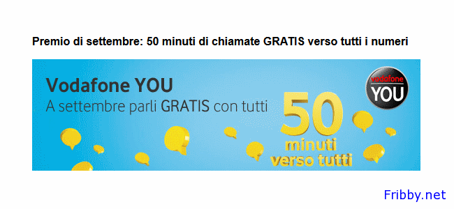 vodafone you settembre 2013