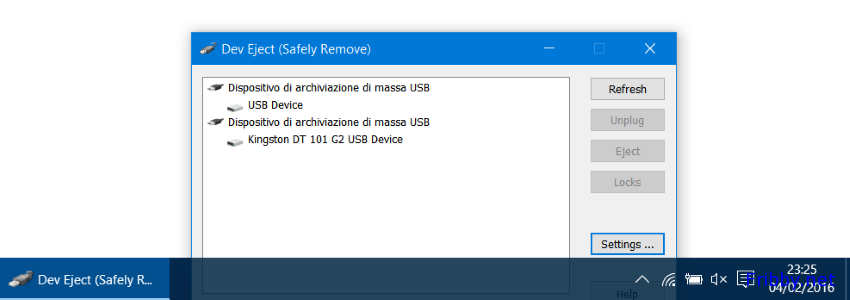 DISPOSITIVO DI ARCHIVIAZIONE DI MASSA USB DRIVERS FOR WINDOWS VISTA