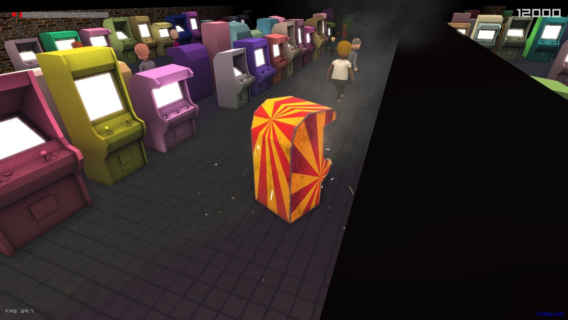 hungry arcade machine