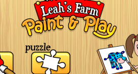 Leah's Farm Coloring Book
